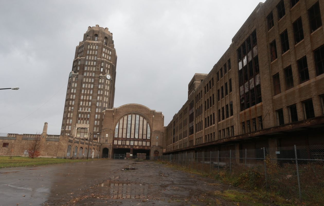 The location and enormous size of the Central Terminal complex make redevelopment a major undertaking. (John Hickey/Buffalo News file photo)