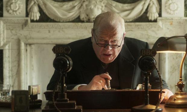 Brian Cox stars as 'Churchill.'