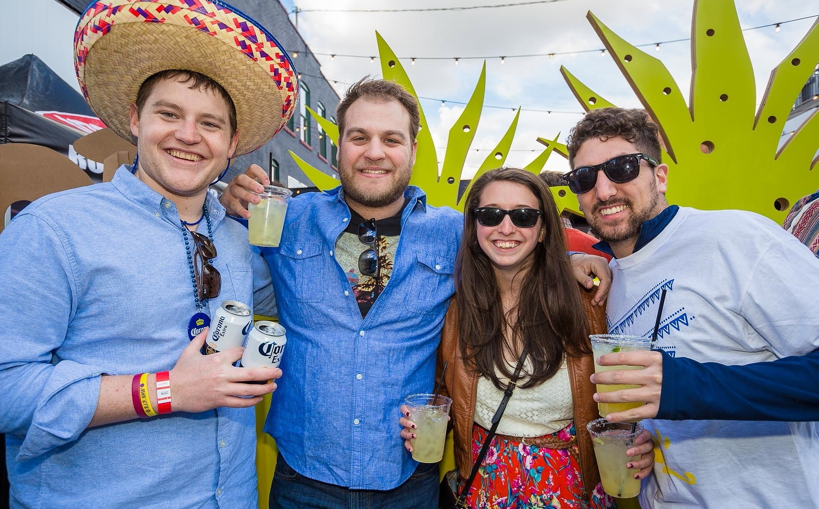 Smiling faces at the 2016 Deep South Taco Cinco de Mayo festivities. (Don Nieman/Special to The News)