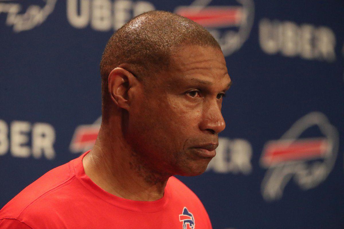 Defensive coordinator Leslie Frazier will return the Bills to a base 4-3 scheme. (James P. McCoy)