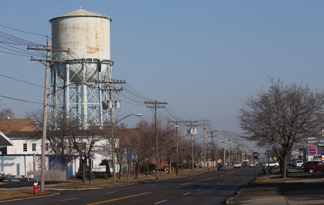 Elmwood Ave in Kenmore, looking north from West Hazeltine Avenue. (Derek Gee/Buffalo News)