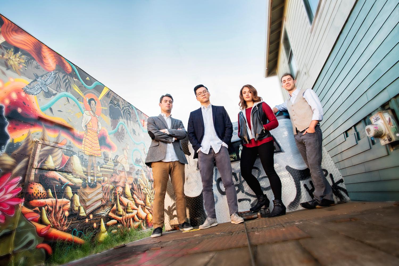 The Dover Quartet is not your grandparents' quartet. (Photo by Carlin Ma.)