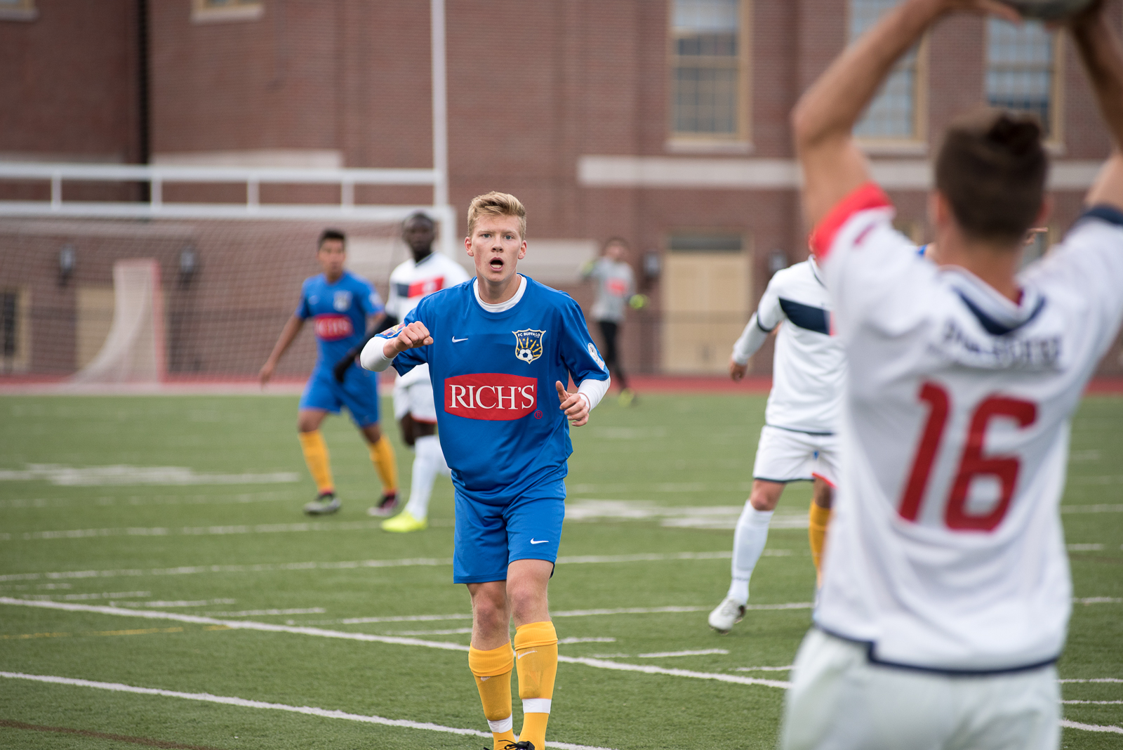 FC Buffalo's Bayley Winkel and his teammates will face a makeshift squad of BDSL players in a match on May 15. (Matt Weinberg/Special to The News)