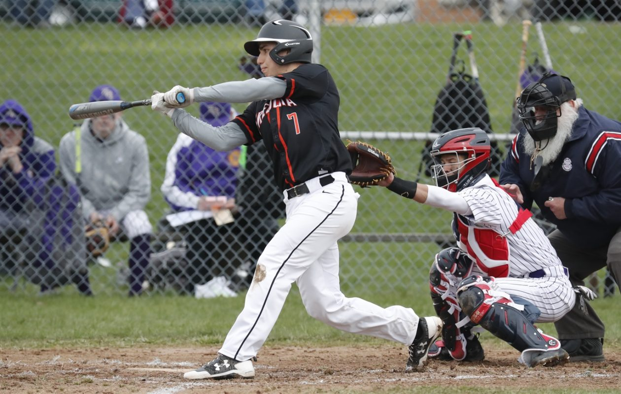 Seth Schrader and the Fredonia Hillbillies  are the top-ranked team in the Western New York Coaches Small Schools  Baseball Poll.  (Harry Scull Jr./Buffalo News)