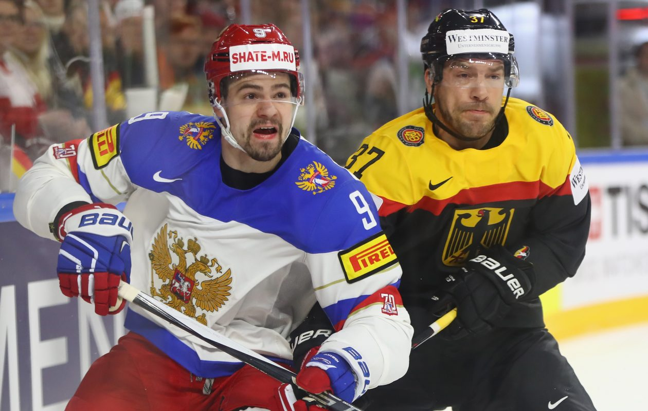 Victor Antipin was one of Russia's best defensemen at the world championships this month. (Getty Images)