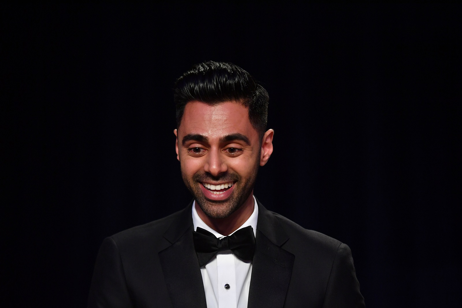 'Daily Show' correspondent Hasan Minhaj gave the keynote roast Saturday night at the White House Correspondents Dinner. (Photo by The Washington Post by Marvin Joseph)