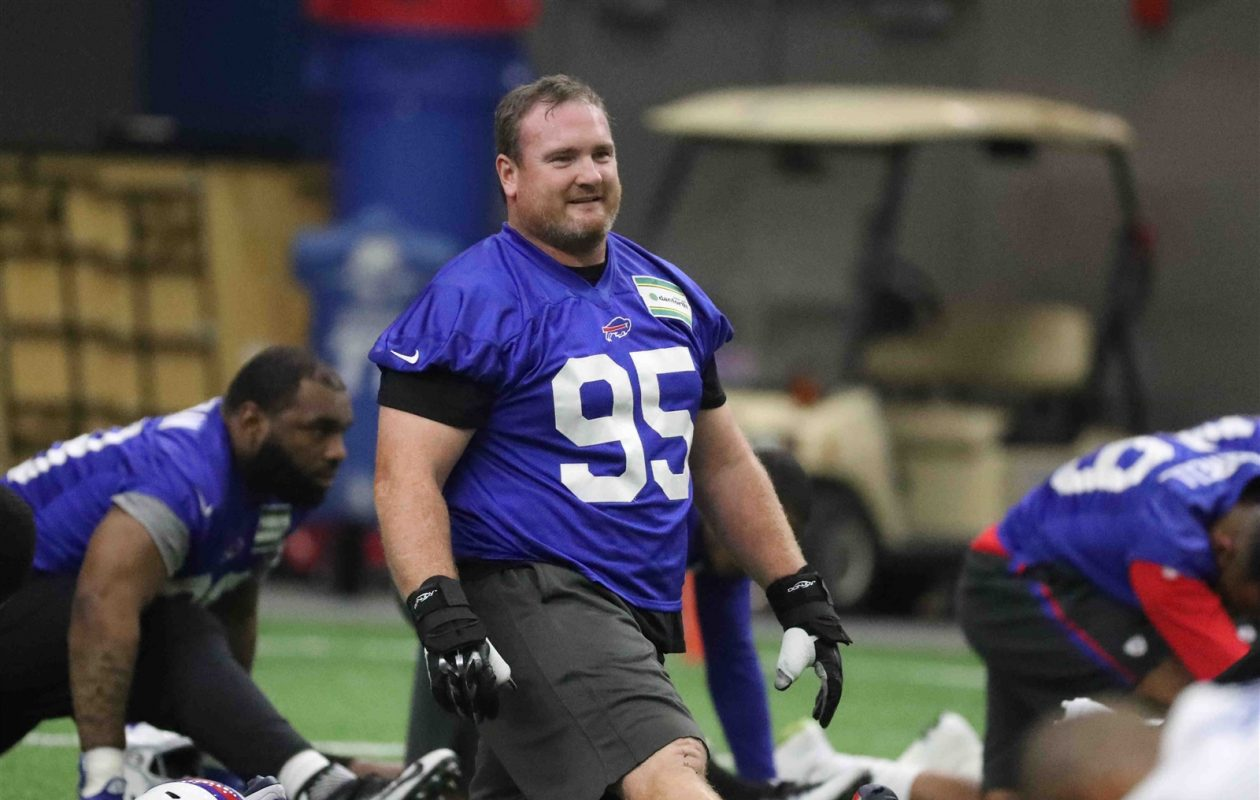 Kyle Williams. (James P. McCoy/Buffalo News)
