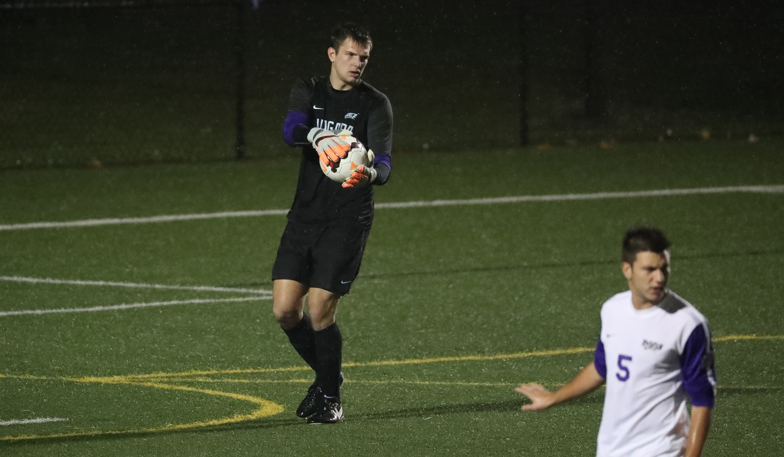 Niagara and FC Buffalo goalkeeper Steve Casey will play for AFC Ann Arbor in the U.S. Open Cup on Wednesday. (Niagara Athletic Communications)
