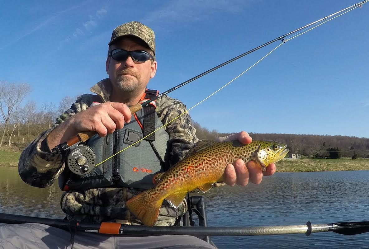 Joel Spring found kayak fishing so enjoyable that he wrote the book on it.
