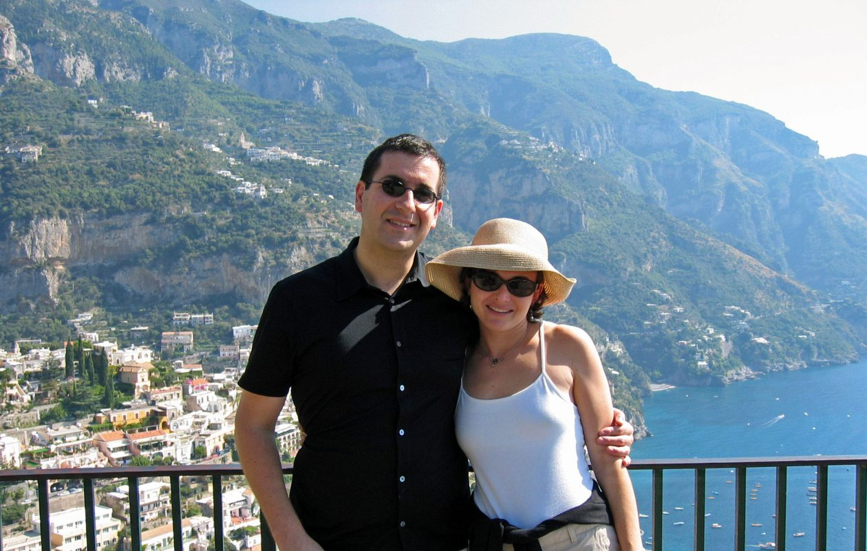 Sheryl Sandberg. with husband Dave Goldberg, who died unexpectedly  of a cardiac arrhythmia after collapsing on a treadmill in the resort's gym.  (Photo provided by Sheryl Sandberg to TNS)