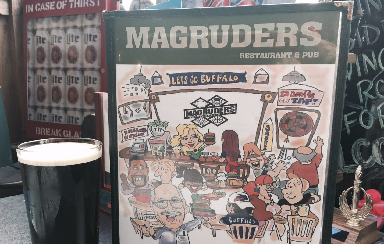 Magruder's in Depew has thrived as a dependable suburban sports bar since 1985.