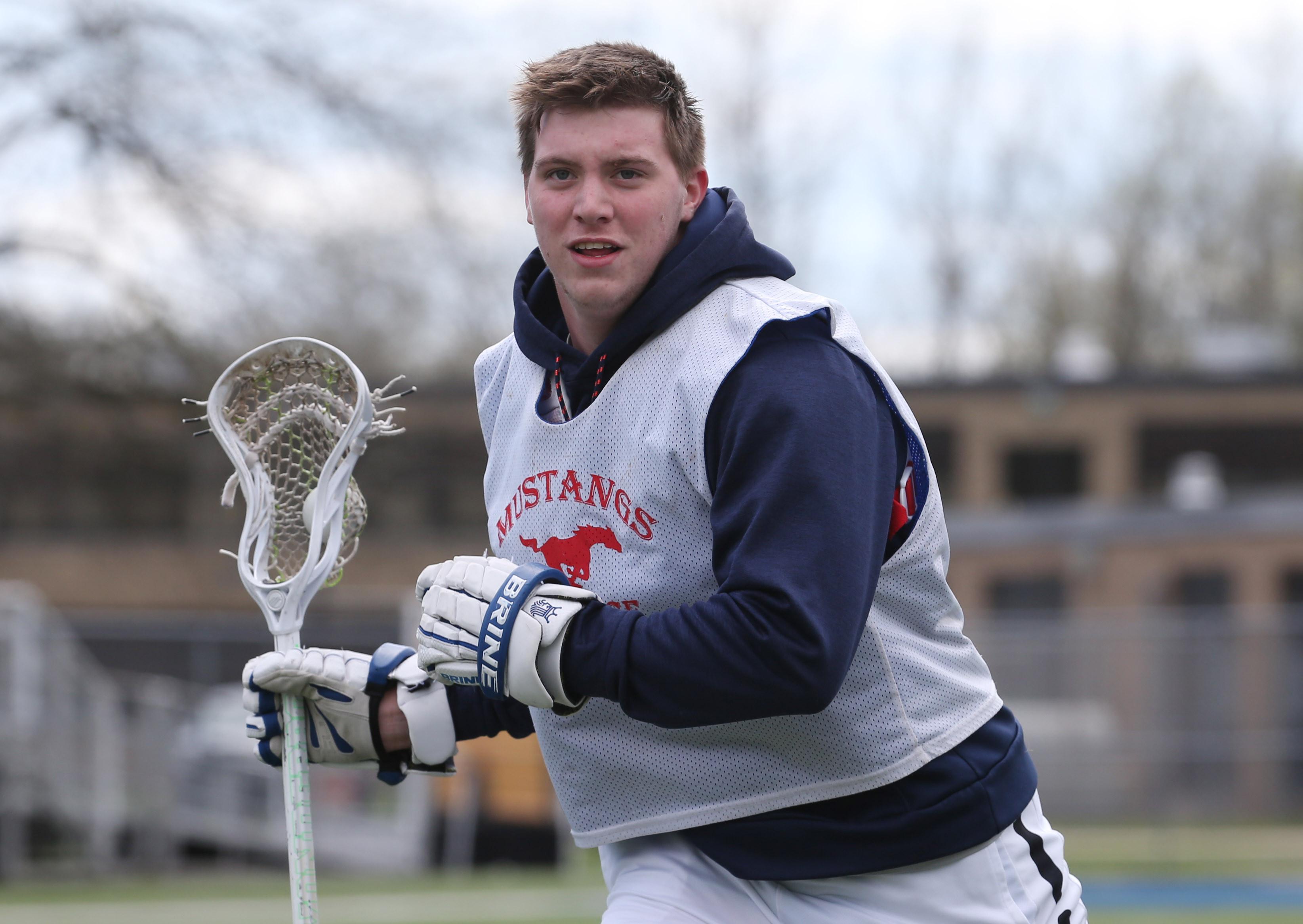 Jake Cotter of Medina lacrosse is the Prep Talk Male Athlete of the Week. (James P. McCoy/Buffalo News)