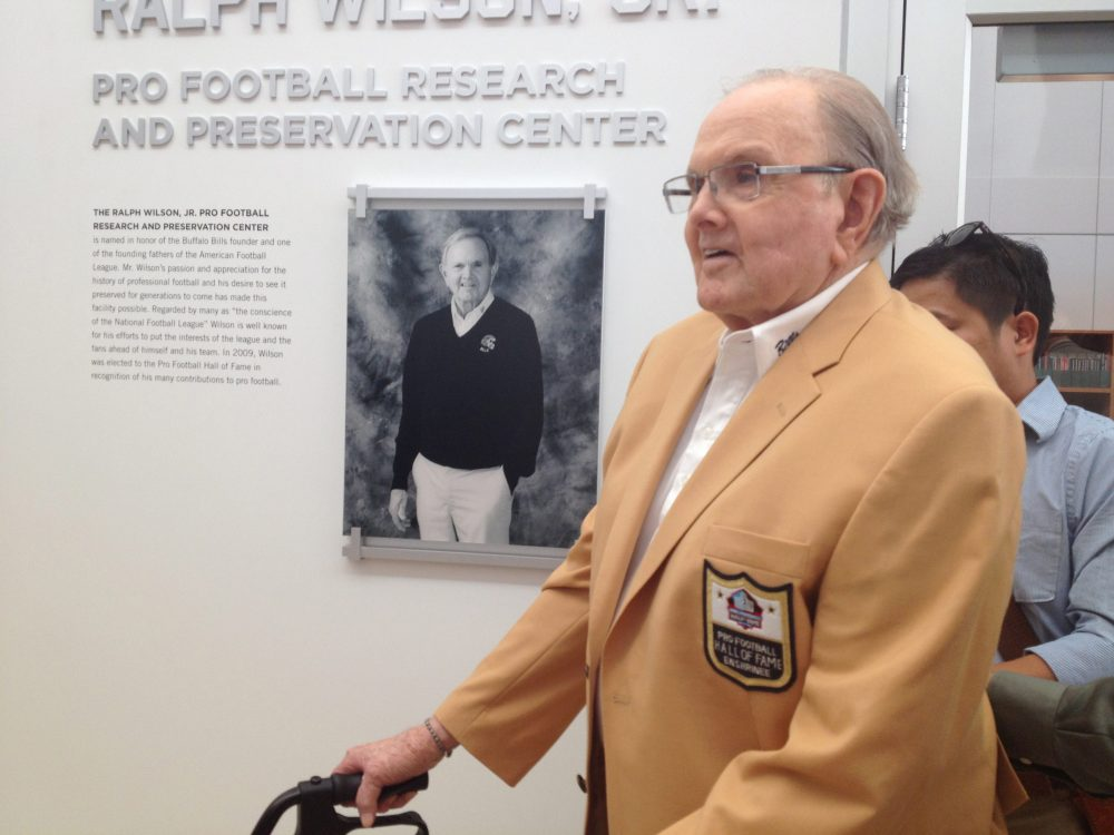 The late Ralph C. Wilson Jr. (Courtesy The Buffalo Bills)