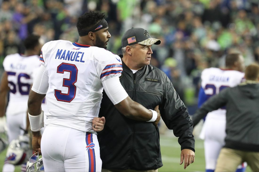 Rex Ryan is fuming mad, although not about a Buffalo News article. At least we don't think so. (James P. McCoy/Buffalo News)