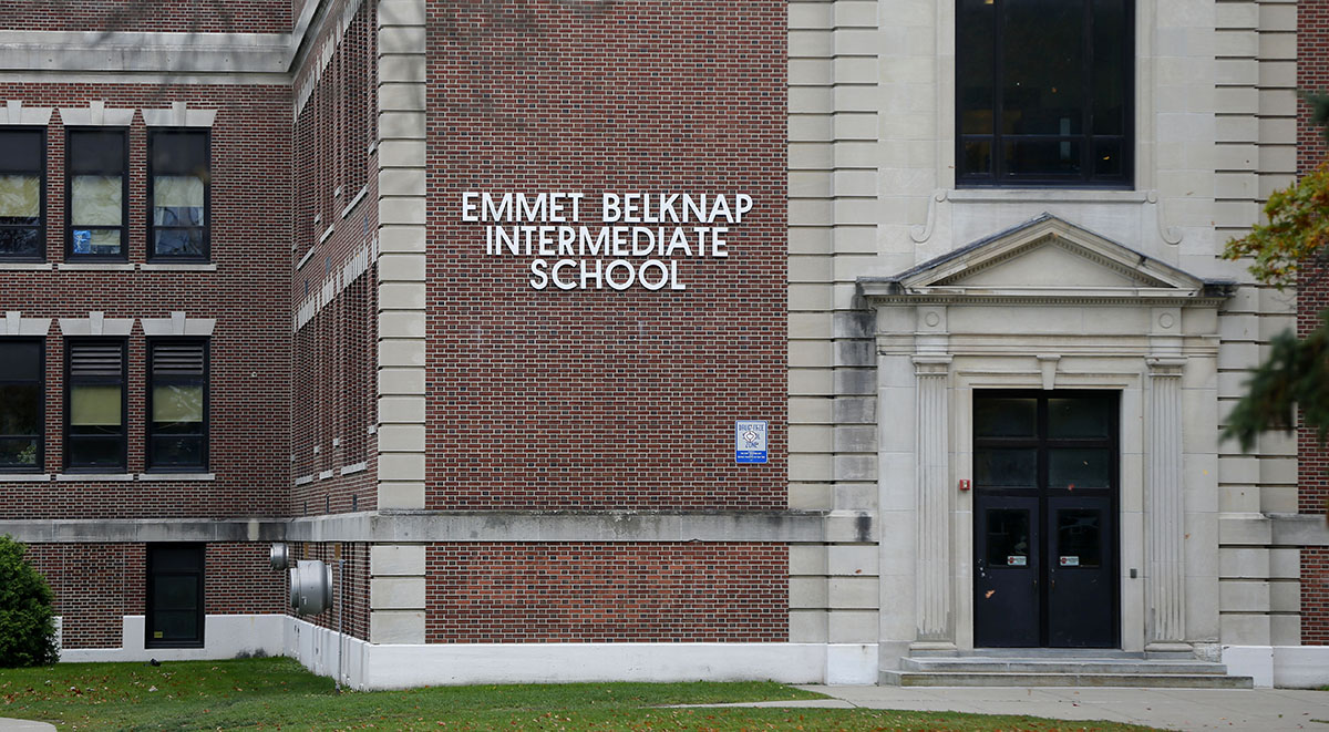 Emmet Belknap Intermediate School in Lockport. (Mark Mulville/News file photo)