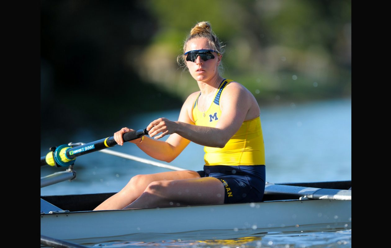 Tessa Yurko, a Nardin graduate, will row for Michigan at the NCAA Championships.
