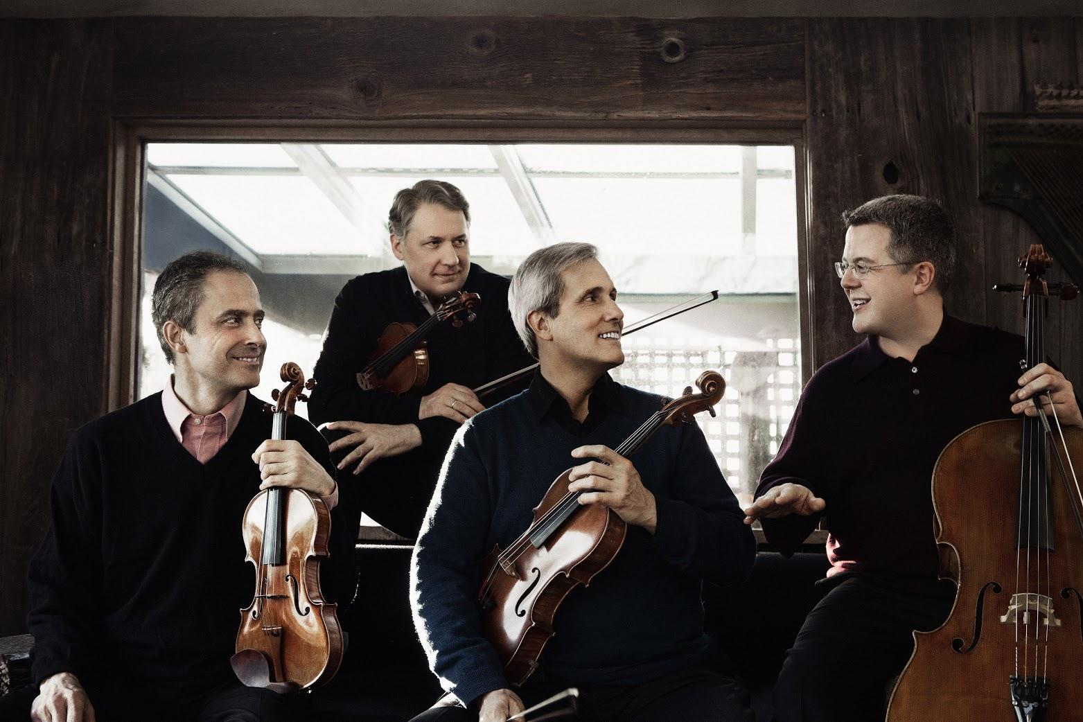 The Emerson String Quartet (Photo by Lisa-Marie-Mazzucco)
