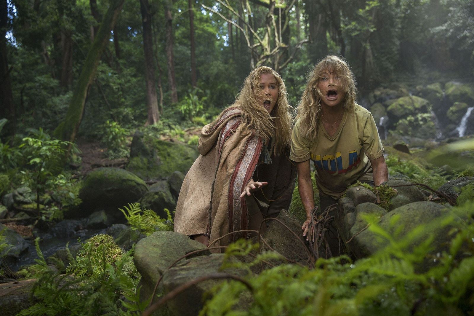 Amy Schumer and Goldie Hawn in the film 'Snatched.' (Justina Mintz/20th Century Fox)