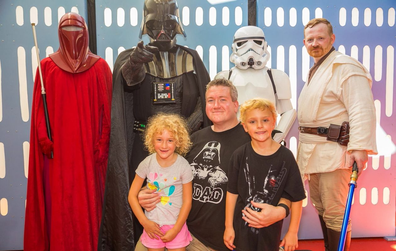 The kids can meet their favorite - or not so favorite - 'Star Wars' characters at the annual 'Star Wars' Night with the Buffalo Bisons.