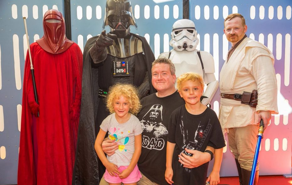 "The kids can meet their favorite - or not so favorite - ""Star Wars"" characters at the annual ""Star Wars"" Night with the Buffalo Bisons."