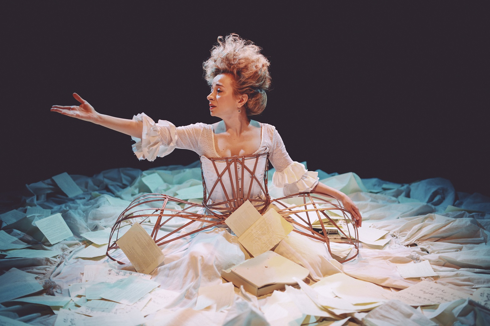 In 'The Other Mozart,' Sylvia Milo stars as Mozart's gifted older sister, Nannerl.