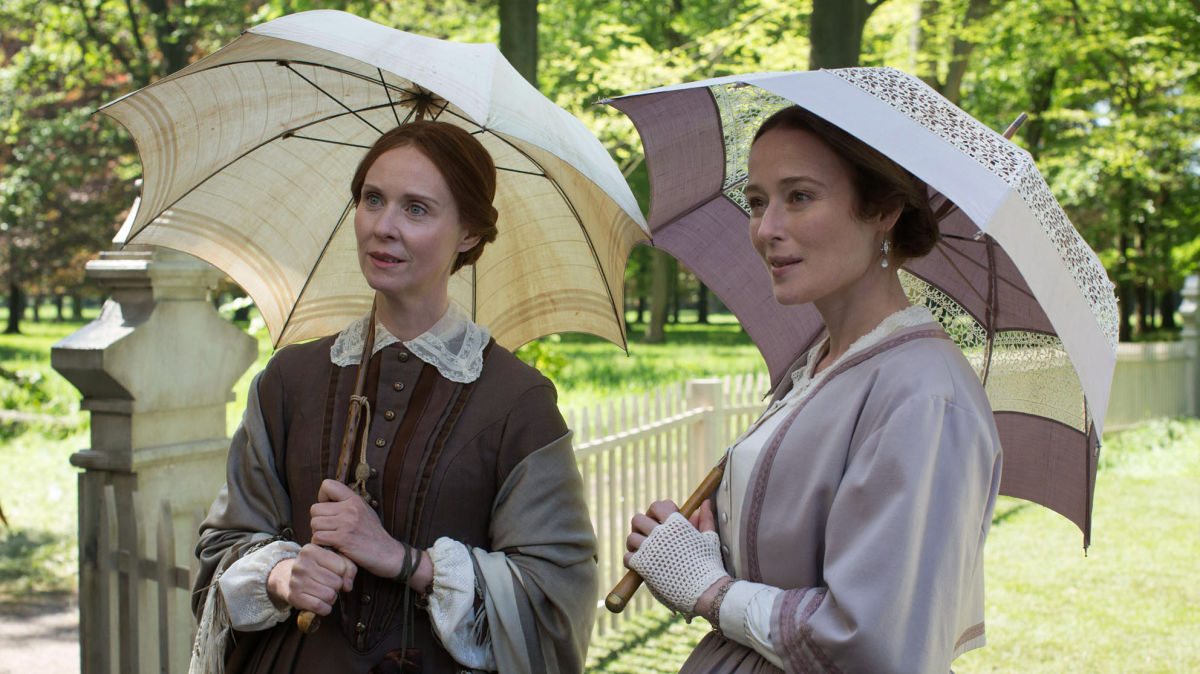 Cynthia Nixon, left, and Jennifer Ehle star in 'A Quiet Passion.'