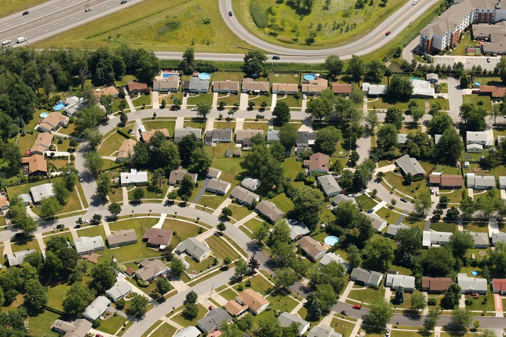 Rosemont Drive and Coronation Drive in Amherst. (Derek Gee/Buffalo News file photo)