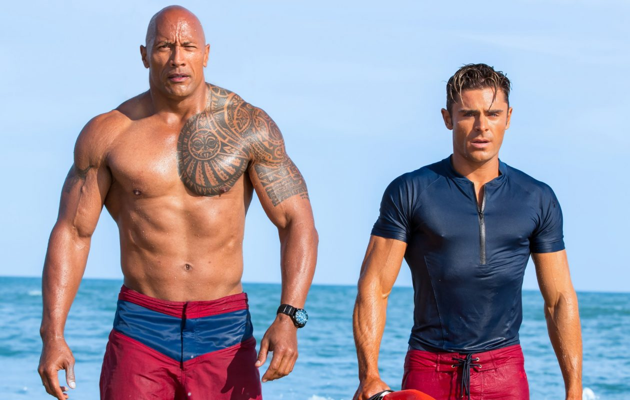 Dwayne Johnson and Zac Efron team up for 'Baywatch.'