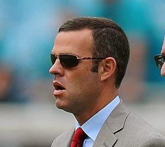 New Bills general manager Brandon Beane. (Charlotte Observer)