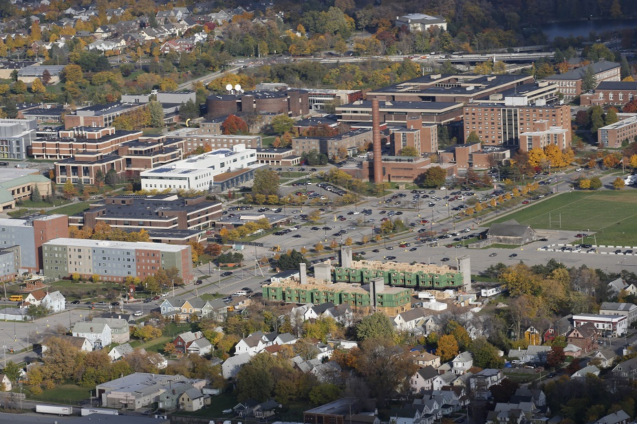 An aerial view of the SUNY Buffalo State campus.  (Derek Gee/Buffalo News)