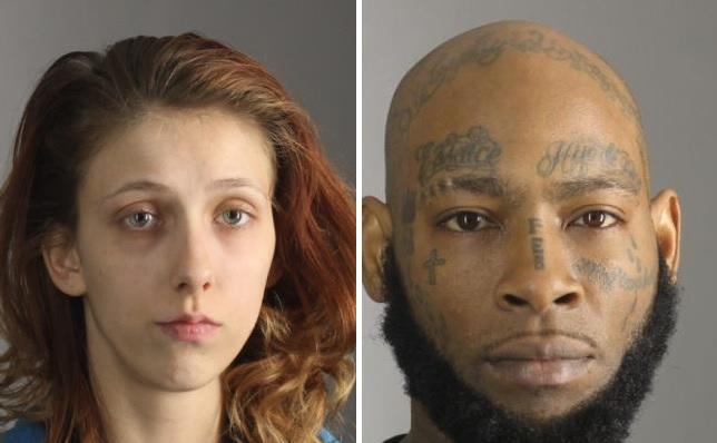 Kamilyn Barr, 20, and Antonio Robinson, 40, both of Cheektowaga. (Erie County Sheriff's Office)