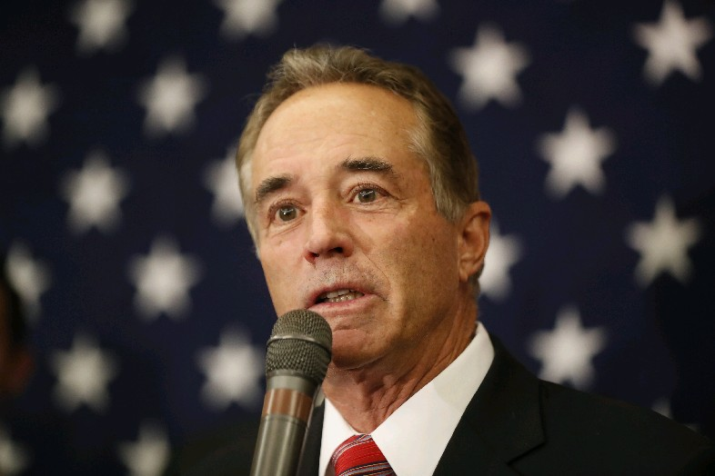 Rep. Chris Collins has scheduled nine fundraisers this month and next in anticipation of his 2018 re-election campaign. Meanwhile, ethics investigators are probing his stock deals. (Harry Scull Jr./News file photo)