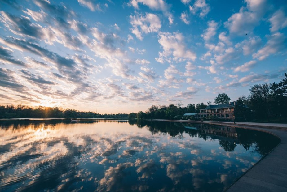 View of Hoyt Lake at 6 a.m. on May 17, 2017. (Courtesy of Colin Gordon of Colin Gordon Photography)