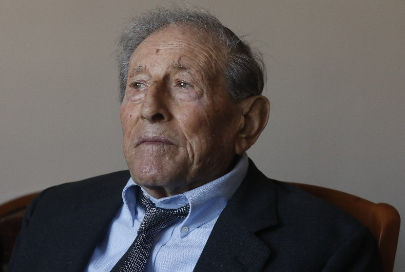 Frank Cortese served with the Italian army, fighting against the Allies and then with them during World War II. (John Hickey/Buffalo News)