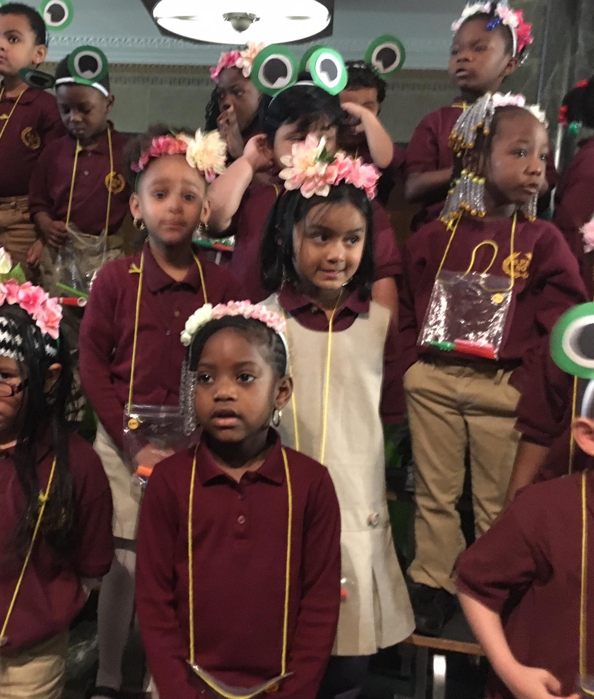 PreK students perform at City Hall