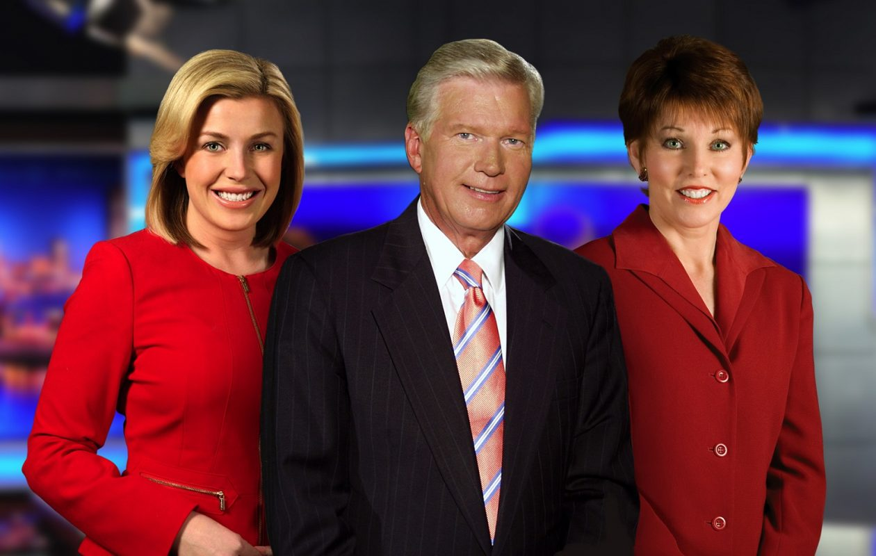 Channel 4 6 p.m. anchors Nalina Shapiro, left, Don Postles, middle, and Jacquie Walker led a strong May sweeps for the channel. (via WIVB)