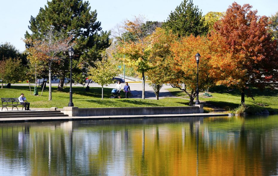 Buffalo has 1,913 acres of parkland, representing 8 percent of land in the city. Nationally, the average is 9.3 percent. (Robert Kirkham/News file photo)