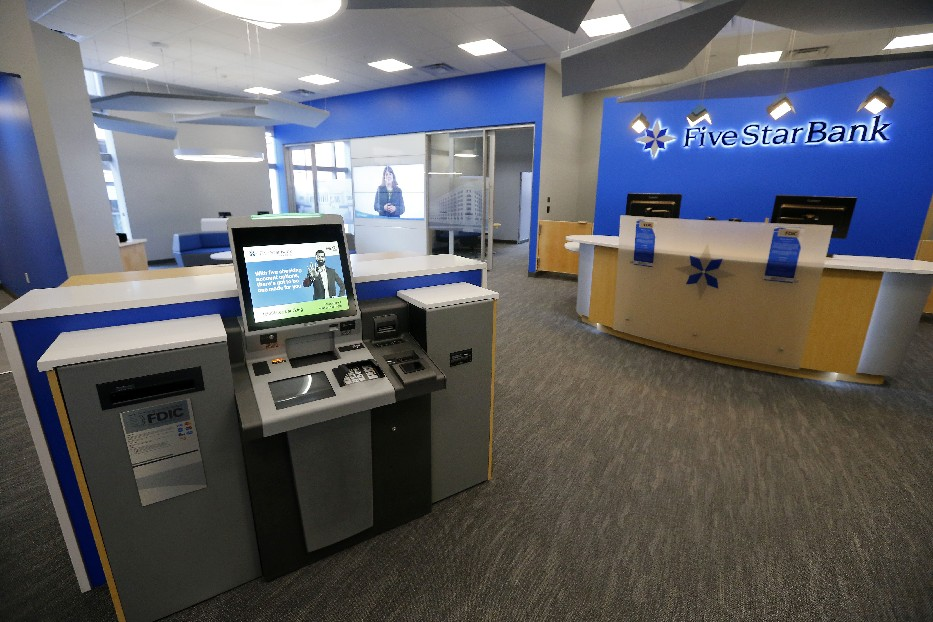 Five Star Bank opened its first Buffalo branch at Fountain Plaza in February.           (Mark Mulville/ News file photo)