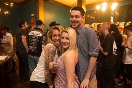 Smiles at Tech N9ne in Town Ballroom