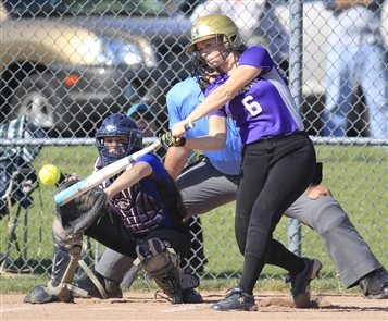 Maggie Vesneske  drove in two runs during Hamburg's 3-1 win over Grand Island. (Harry Scull Jr./Buffalo News)