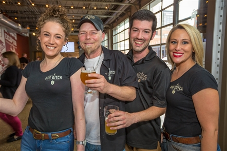 Smiles at Big Ditch Brewing's second anniversary