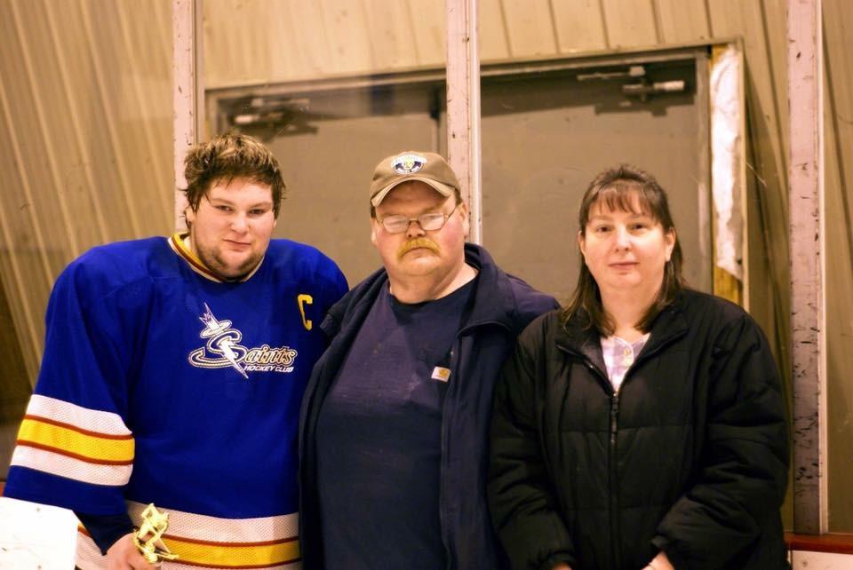 Bob, Donald and Suzanne Palmer.