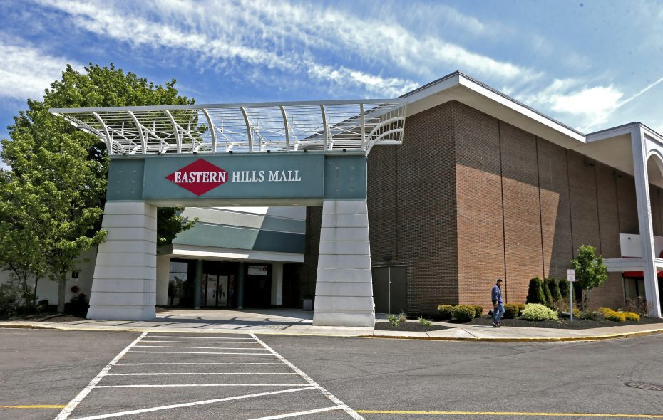 Eastern Hills Mall believes an open-air town center concept would be a much more profitable use of space than its current enclosed mall format. (Robert Kirkham/News file photo)