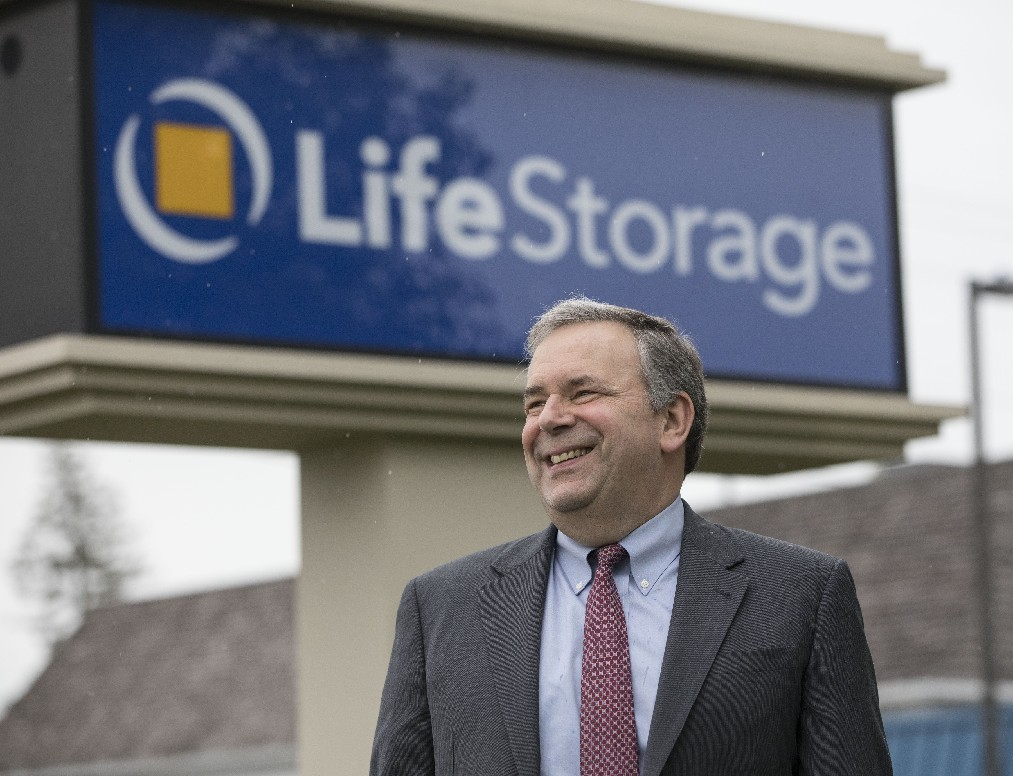 David Rogers, CEO of Life Storage, plans to retire in March. (Derek Gee/Buffalo News)