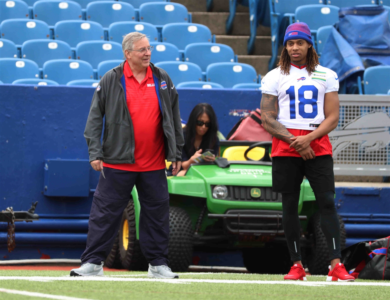 Kolby Listenbee was released Tuesday by the Buffalo Bills before ever appearing in a game for the team. (James P. McCoy/Buffalo News)