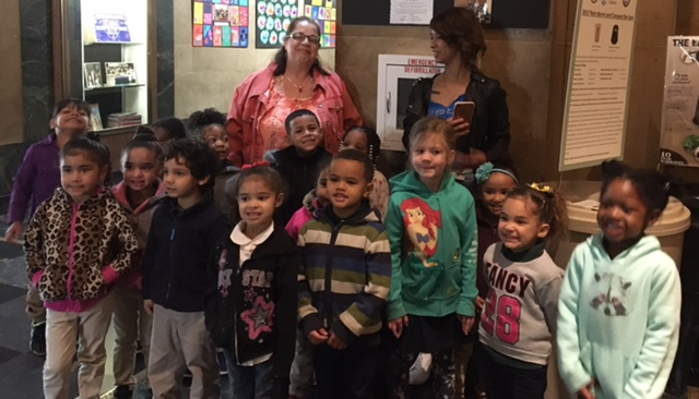 Young artists from Herman Badillo Bilingual Academy