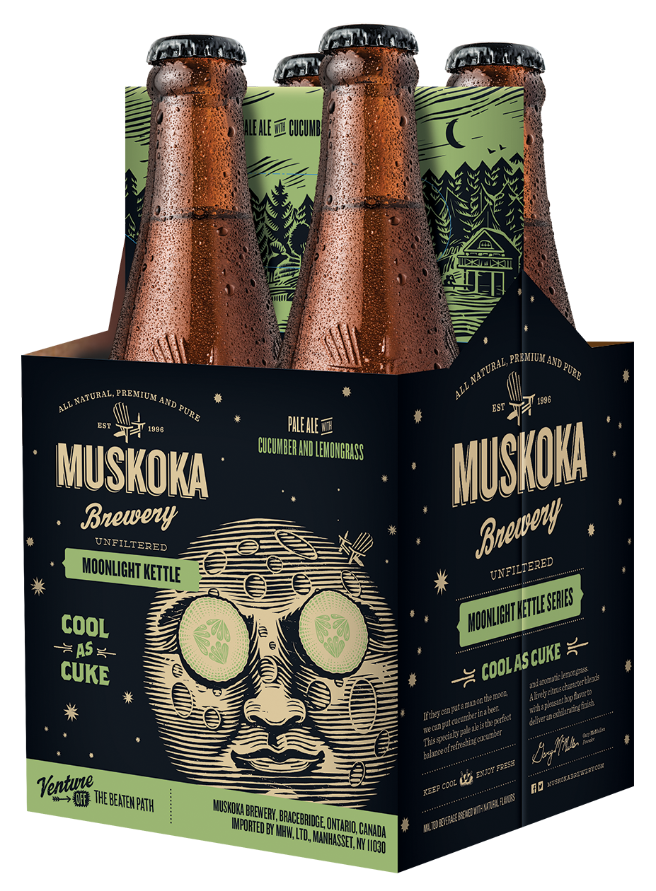 Muskoka Brewery, in Muskoka, Ont., recently released Cool as Cuke, one of four seasonal beers it will offer in New York State retailers this year.