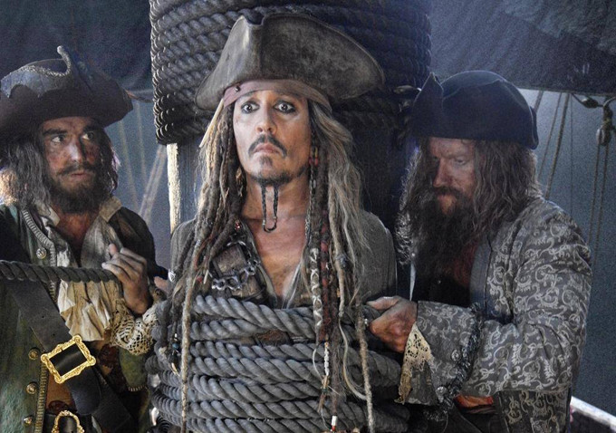 Johnny Depp is always the best thing about the 'Pirates of the Caribbean' movies.