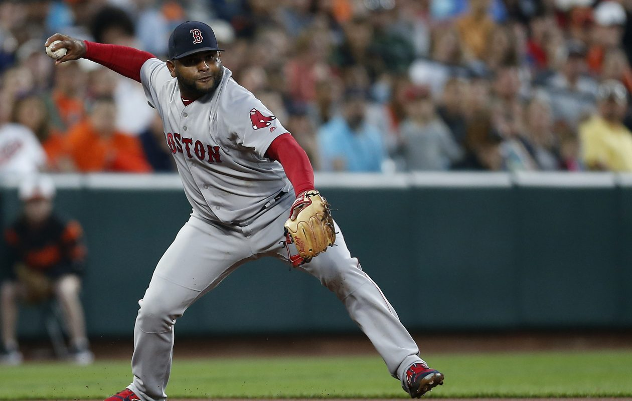 Pablo Sandoval is scheduled to join Pawtucket when the Red Sox play in Buffalo Friday. (Getty Images)