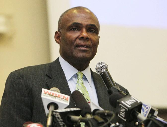 Former FBI Special Agent Bernard Tolbert says he will emphasize his law enforcement background in running for sheriff, but also will point out problems that have plagued the office.(Sharon Cantillon/News file photo)